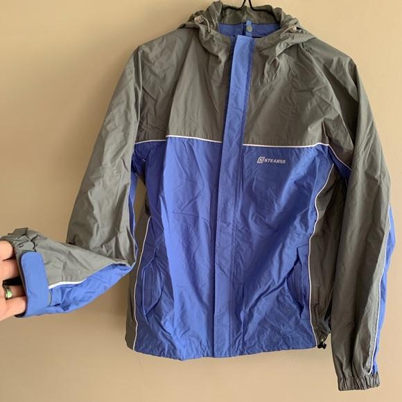 Stearns Jackets & Blazers - Stearns Dry Wear Windbreaker Rain Storm Jacket EUC